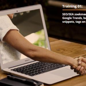 E-learning module 1: SEO/SEA zoekmachineoptimalisatie, Google Trends, backlinks, slugs, snippets, tags en Google Mijn Bedrijf